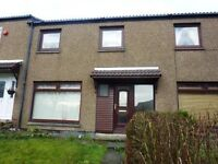 3 bedroom unfurnished flat available on Craigside Court in Cumbernauld (ref 473)