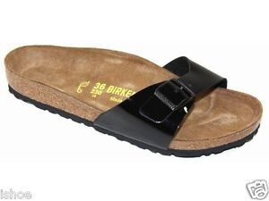 BIRKENSTOCK MADRID SLIP ON MOLDED SUEDE FOOTBED MULE SANDALS SHOES SIZE 3-8 NEW