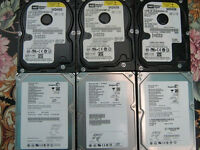 "Hard drives 40GB 7200rpm SATA 3.5"" [job lot of 6 drives]"