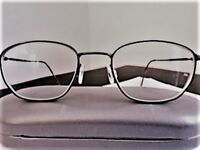 SEIKO - QUALITY SUPER TITANIUM - ULTRA LIGHT - MEN PRESCRIPTION FRAME - 50-20-140 = SMOKEY GREY