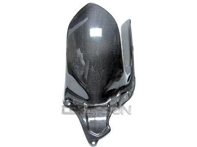 2008 - 2014 Ducati Monster 696 Carbon Fiber Rear Hugger - 1x1 plain weaves