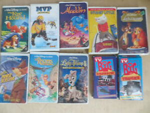 10 VHS Children Tapes London Ontario image 1