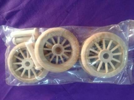 Timber / wooden / wood toy wheels CLEARANCE SALE last of stock Walkerville Walkerville Area Preview