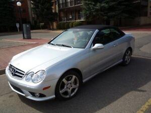 2007 Mercedes-Benz 550 CLK-Class Convertible