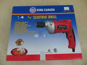 "KING CANADA 3/8"" Electric Drill London Ontario image 1"