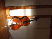4/4 Stentor Student II Cello for sale incl soft case, bow music stand
