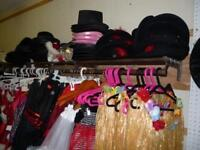 Lots of costumes for sale