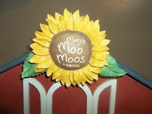Mary's Moo Moos Large Wooden Barn Display by Enesco London Ontario image 2