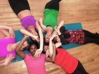 Vinyasa Yoga: fun, flowing yoga suitable for all levels. Move your body and clear your head. Enjoy