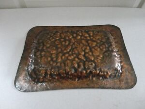 Antique Red Brass Tray London Ontario image 3