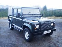 2000 Land Rover Defender 110 County Double Cab Pick Up TD5
