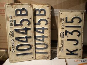 License Plates, mostly Ontario from 1929 t0 1980 100's in total Belleville Belleville Area image 3