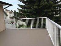 Deck, Decking; Railing, We supply and install. Fixing, TG plywoo