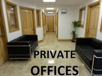 ★ Central London. PRIVATE OFFICE ROOMS. 24-7 access. Inc: rates, phone, internet ★