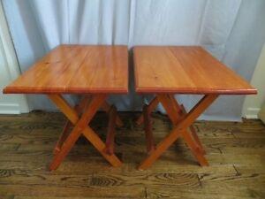 Set of 3 Folding Table London Ontario image 3