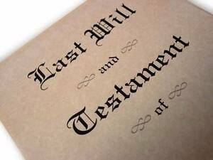Practising solicitor will prepare and witness a will for $200 Sydney City Inner Sydney Preview
