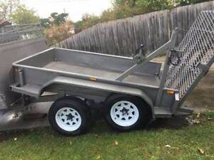 Tandem Lawn mowing Trailer 12x5, 6x4 Lawn mowing Trailer, Dandenong Greater Dandenong Preview