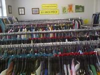 ATTENTION THRIFTERS AND BARGAIN HUNTERS! Clothes & Shoes $1 each