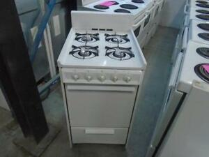 1001117 GAS STOVE WHITE-WESTINGHOUSE 20''
