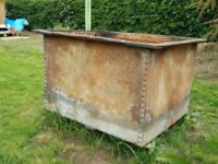 Metal Water Tank - Perfect for Firepit, Large Planter, Creative Upcycling £25 OVNO