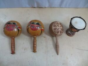 Small Maracas and Small Drum