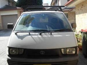 1996 Toyota Townace Van/Minivan Girraween Parramatta Area Preview