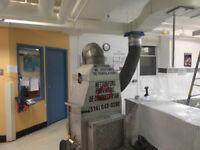 Technicien en assainissement de systèmes de ventilation