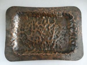 Antique Red Brass Tray London Ontario image 1