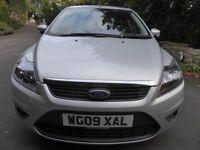 Ford Focus 1.6 Zetec, 09 plate, MOT 'til July '17, fsh, 52,145 miles, 3 owners, plus roof rack