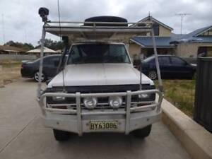 1985 Nissan Patrol Dual Cab T-Top 6.5Ltr V8 Chev Diesel MQ Glen Iris Bunbury Area Preview