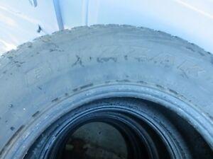 Blizzak Bridgestone Set of  4 Winter Tires London Ontario image 6