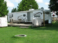 Beautiful 2011 Forest River Salem (36' Bunk House) On Secured Lo