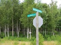 CORNER LOT FOR SALE IN ACKWA VILLAGE, YOUNGS COVE, NB