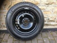 NEW TYRE AND STEEL WHEEL 215 x 60 x R16 99W