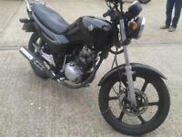 125cc motorcycle 12 months mot
