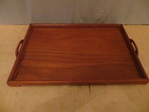Wood Tray with 5 Wood Bowls London Ontario image 3