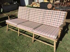 Old Timber 3 Seat Outdoor Sofa Beckenham Gosnells Area Preview