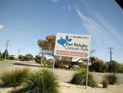 Onsite semi-permanent caravan & hard annex Pt Rickaby Bluff Beach Yorke Peninsula Preview
