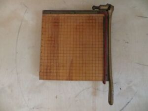 Vintage Small Paper Trimmer