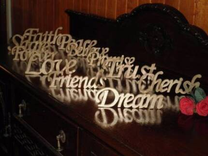 Wedding Inspirational Words for Decorations