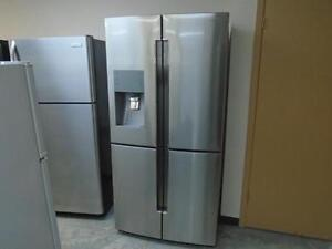 "1001015 REFRIGERATEUR 36"" ACIER COTE A COTE SAMSUNG 36"" STAINLESS SIDE BY SIDE REFRIGERATOR"