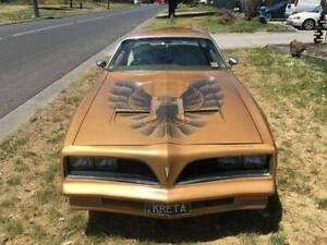Pontiac Transam Firebird Coupe 1977 Campbellfield Hume Area Preview