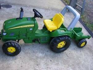 John Deere Tractor and Trailer - Rolly Toy Lismore Lismore Area Preview