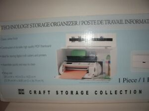 *Jetmax Cricut/Silhouette Storage Organizer-Brand new in box $20