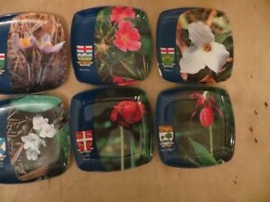Canada Provinces Flower Coaster London Ontario image 3