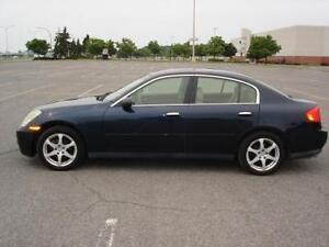 2004 INFINITI G35 X - ALL WHEEL DRIVE - ONE TAX TO PAY