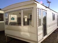 Static caravan for sale, off-site, pre-owned Pemberton Rancher 28 x 10 ft 2 bedrooms