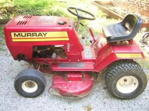 Im looking to buy riding mowers dead or alive