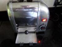 DUALIT 2SL GB 2 slice toaster Chrome - VGC LONDON