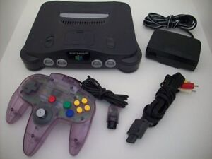N64 System with 1 Controller, all Hook Ups and JUMPER PACK